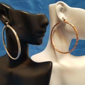 2 For 1: Ethyl & Myrtle hoop earrings SAVE 50%!